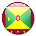flag, Country, Grenada Black icon