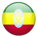 flag, Ethiopia, Country Black icon