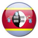 Swaziland, Country, flag Black icon