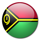 Vanuatu, Country, flag Black icon