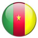 Cameroon, Country, flag Black icon