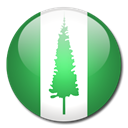 norfolk, flag, Country, Island SeaGreen icon