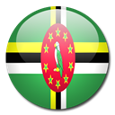 flag, Dominica, Country SeaGreen icon
