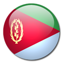 flag, Country, Eritrea Black icon