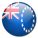 flag, Cook, Island, Country MidnightBlue icon
