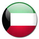 flag, Kuwait, Country Black icon