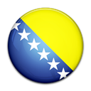 Country, herzegovina, bosnia, flag, And Yellow icon