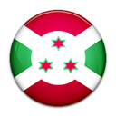 Country, Burundi, flag Black icon