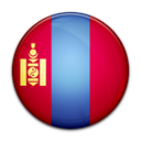 Mongolia, Country, flag Black icon