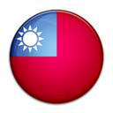 flag, Taiwan, Country Crimson icon