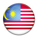 malaysia, Country, flag Black icon