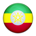 flag, Country, Ethiopia Black icon