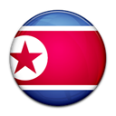 north, Country, Korea, flag Crimson icon