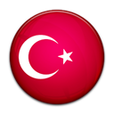 Country, turkey, flag Crimson icon