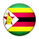 Country, Zimbabwe, flag Black icon