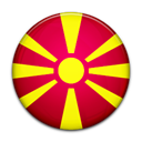 flag, Country, Macedonia Crimson icon