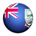 malvinas, Island, flag, islas, Country, Falkland Black icon