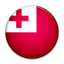 Tonga, Country, flag Crimson icon