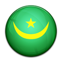 Mauritania, flag, Country MediumSeaGreen icon