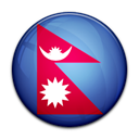 flag, Nepal, Country Black icon
