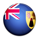 turk, Island, Country, caicos, And, flag Black icon