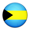 Bahamas, Country, flag Black icon