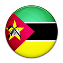 flag, Country, Mozambique Black icon
