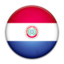 Country, flag, Paraguay Black icon