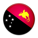 papua, guinea, flag, new, Country Black icon