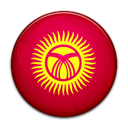 Kyrgyzstan, Country, flag Crimson icon