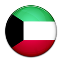 Country, flag, Kuwait Black icon