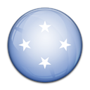 Country, flag, Micronesia LightSteelBlue icon