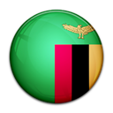 Country, flag, Zambia Black icon