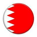 Country, Bahrain, flag Red icon