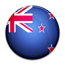 new, zealand, flag, Country Black icon