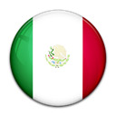 flag, Mexico, Country Black icon