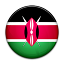 kenya, Country, flag Black icon