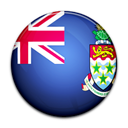 Cayman, flag, Island, Country Black icon