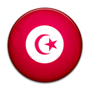 Tunisia, Country, flag Crimson icon