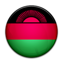 Malawi, Country, flag Black icon
