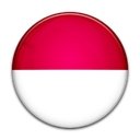 flag, Country, Indonesia Crimson icon