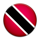 And, trinidad, tobago, Country, flag Black icon