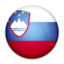 flag, slovenia, Country Black icon