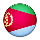 Country, Eritrea, flag Crimson icon