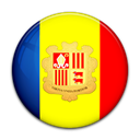 Andorra, Country, flag Yellow icon