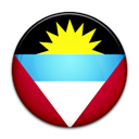 antigua, flag, And, Country, barbuda Black icon