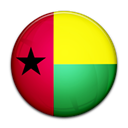 Blissau, flag, Country, guinea Black icon