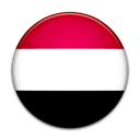 Yemen, Country, flag Black icon