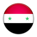Syria, flag, Country Black icon
