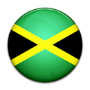 flag, Country, Jamaica Black icon